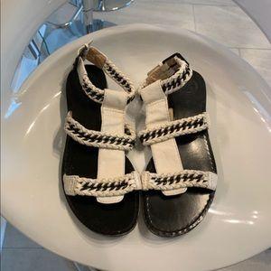 4bb2d0291321 Modern Vintage leather sexy gladiator sandals